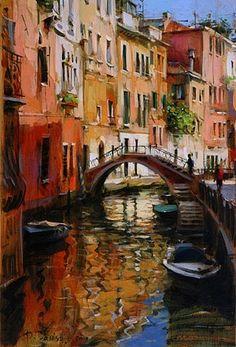 Dmitri Danish - Venice Sunny Day