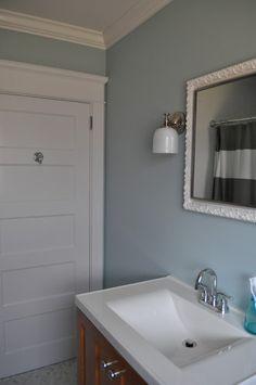 vanity eclectic bathroom