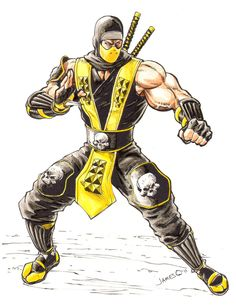 Mortal Kombat Tattoo, Mortal Kombat 2, Skorpion Mortal Kombat, Mortal Kombat X Wallpapers, Claude Van Damme, Beast Wallpaper, Predator Alien, King Of Fighters, Dragon Ball Gt