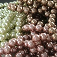 Pearls every shape and size!