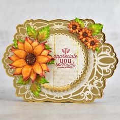 Heartfelt Creations - Decorative Sunflowers