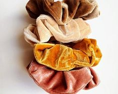 Lux Velvet Scrunchies | Beautiful Soft Velvet Scrunchies are so gentle on your hair but provide a strong hold. Our accessories are made from the finest materials.