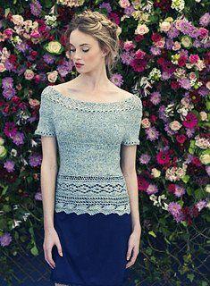 Louisa Harding Comfry Top Pattern