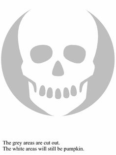 Scull Pattern Pumpkin Carving for Halloween - Real Time - Diet, Exercise, Fitness, Finance You for Healthy articles ideas Skeleton Pumpkin, Skull Pumpkin, Pumpkin Stencil, Pumpkin Art, Pumpkin Carving Party, Pumpkin Carving Templates, Pumpkin Carvings, Halloween Birthday, Holidays Halloween