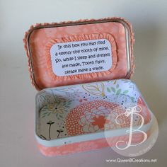 Tooth Fairy Box, Queen B Creations