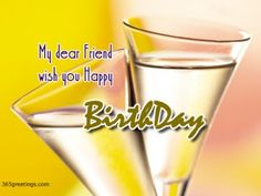 Birthday Wishes For A Friend - Messages, Wordings and Gift Ideas
