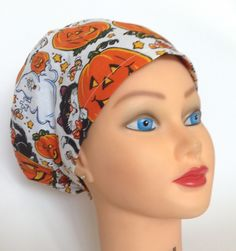 A personal favorite from my Etsy shop https://www.etsy.com/listing/201229989/womens-surgical-scrub-hat-circle-top-a