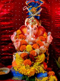 Lord Ganesh.. One Of The Largest Festival In India..