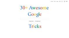 30+ Awesome Google Tricks - Sarvi Solutions