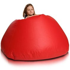 Relax XL babzsákfotel - piros Bean Bag Chair, Relax, Furniture, Big, Home Decor, Products, Decoration Home, Room Decor, Beanbag Chair