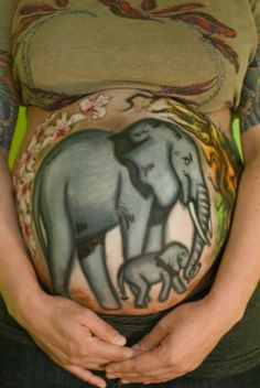 Amazing Paintings on Pregnant Bellies. You Have to See Them! DON'T SWIPE 18 - https://www.facebook.com/different.solutions.page