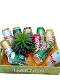 darčekový kôš I love beer