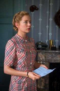 Michelle Williams in Suite Française, 2015.