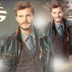 Jamie Dornan-Once upon a time as Sheriff Graham....I MISS HIM.