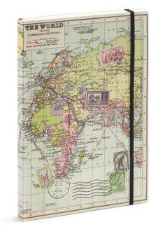 World Map Travel Journal | Seattle's Travel Shop