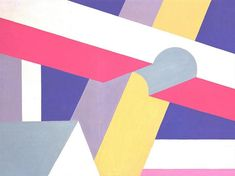 Transverse Beams, 1932 by Patrick Henry Bruce. Cubism. figurative