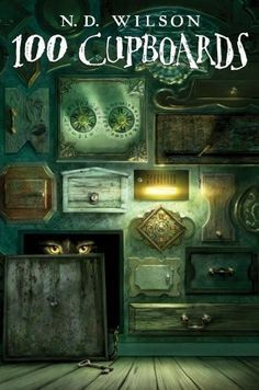 100 Cupboards by N. D. Wilson. Could not put this series down! Travel to other worlds, mythological creatures, magical doors....