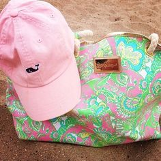 Lilly and Vineyard Vines - you just don't get much better than that!