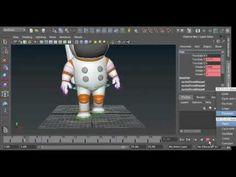 Maya Basic Walk Cycle Animation Tutorial | 3D Animation Masterclass - YouTube