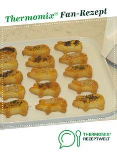 Käsegebäck schnell und gut von Mousse. Ein Thermomix ® Rezept aus der Kategorie Backen herzhaft auf www.rezeptwelt.de, der Thermomix ® Community.
