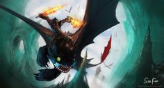 DeviantArt: More Like 40 Amazing How To Train Your Dragon Fan Art Pieces by danlev