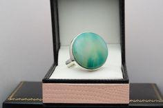 Gemporia Sterling Silver Gemstone Ring.  Sterling Silver 925 Fine Ring.  Genuine