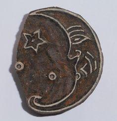 Fair Trade 5cm Moon & Star Round Design by PilgrimsFairTrade