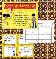 Personification Activities, Freebie, and a Giveaway!