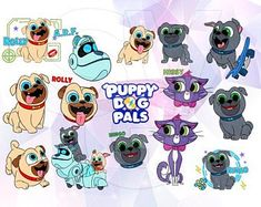 14 Best Puppy Dog Pals Rolly Bingo Svg Images Cricut Design Vinyl
