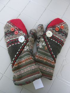 Mittens (by Patchwork Design company)