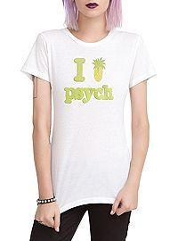 HOTTOPIC.COM - Psych I (Pinapple) Psych Girls T-Shirt 2XL