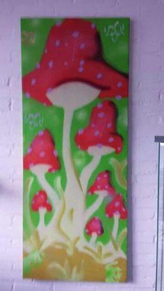 Mushroom art wet willie