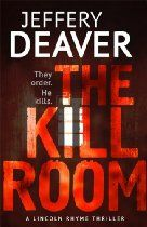 Jeffery Deaver  The Kill Room (Lincoln Rhyme Series) - Robert Moreno, an American citizen living in South America, is shot in the Bahamas by a sniper. The killing was commissioned by the U.S. government, who received a tip-off that Moreno was planning a terrorist attack on a U.S. oil company headquarters. But this intelligence was fatally incorrect: anti-American Moreno ordered a protest at the oil company, not an attack.  Lincoln Rhyme and Amelia Sachs are drafted in to investigate.