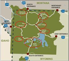 The Ultimate Guide to Yellowstone National Park - Simple But Yum This guide inlcudes information about all areas in Yellowstone national park for your 1 to 4 days trip to Yellowstone national park. Yellowstone Vacation, Yellowstone Park, West Yellowstone Lodging, West Yellowstone Montana, Karaoke, Places To Travel, Places To Go, Travel Stuff, Yellowstone Nationalpark