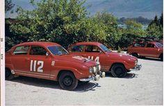 Saab - Acropolis Rally 1966.