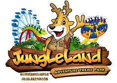 The mascot of junggle land water park in Sentul west java Indonesia .