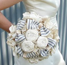 wedding cotton fabric bouquet by DaisyCombridge 2019 Bridal Bouquet. wedding cotton fabric bouquet by DaisyCombridge The post Bridal Bouquet. wedding cotton fabric bouquet by DaisyCombridge 2019 appeared first on Cotton Diy. Cute Wedding Dress, Wedding Bows, Wedding Fabric, Nautical Wedding, Wedding Bouquets, Rustic Wedding, Wedding Country, Nautical Theme, Wedding Brooches
