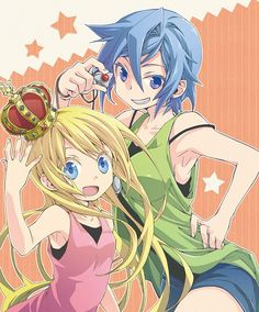 Senyuu Hime-chan and Ares