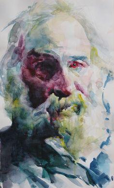 Walt Whitman PAINTING by Akira Beard