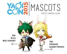 YaoiCon 2015 Mascot Contest WINNER That's right! — We had so many applications from many talented artists and after all of the decisions were in, we decided our YaoiCon 2015 Mascot Contest...