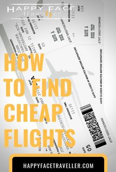 Finding the cheapest flight ticket can always take a lot of time and patience. Don't miss my tips for an easy way on how to find cheap flights. Cheap Flight Tickets, Find Cheap Flights, Face, Happy, Travel, Viajes, Ser Feliz, Trips, Traveling