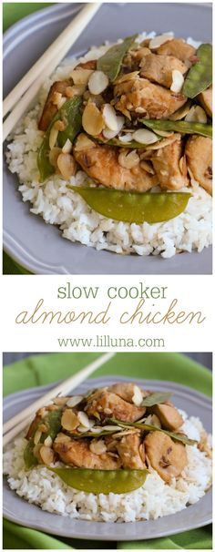 All Things Savory: Slow Cooker Almond Chicken