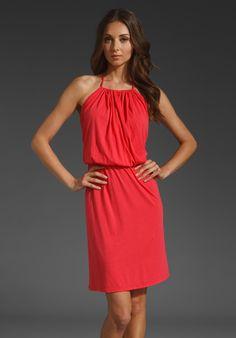 <3 BOBI Modal Jersey Halter Dress in Rio at Revolve Clothing - Free Shipping!