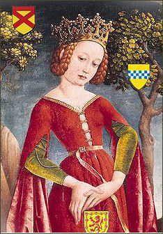 Isabell Mar 'Queen' 1278–1296 BIRTH JAN 1278 • Kildrummy Castle, Aberdeenshire, Scotland DEATH 1296 DEC 12 • Cardross Castle, Dumbarton, Strathclyde, Scotland 22nd great-grandmother. Burial: Paisley Abbey, Paisley, Renfrewshire, Scotland (Eddy Family) Husband: Robert The Bruce 'King'