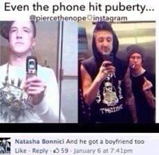 Austin Carlile then and now