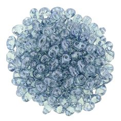 364-24-14464 MiniDuo 2/4mm : Luster Transparent Blue