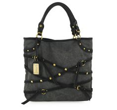 4/6/2012  Price: $29.99  + FREE SHIPPING Buffalo by David Bitton Equine Fantasy Series Tatum Tote Handbag in Black