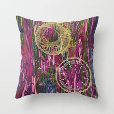 The Velocity of the Venom Antidote (Aligning Forces) Throw Pillow, $20.