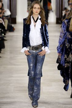Ralph Lauren Fall 2016 Ready-to-Wear Fashion Show - Daga Ziober
