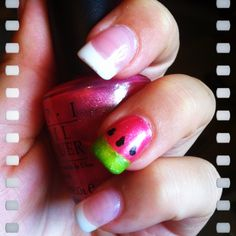 2015Image viaFrench nails designImage viaAwesome French Manicure